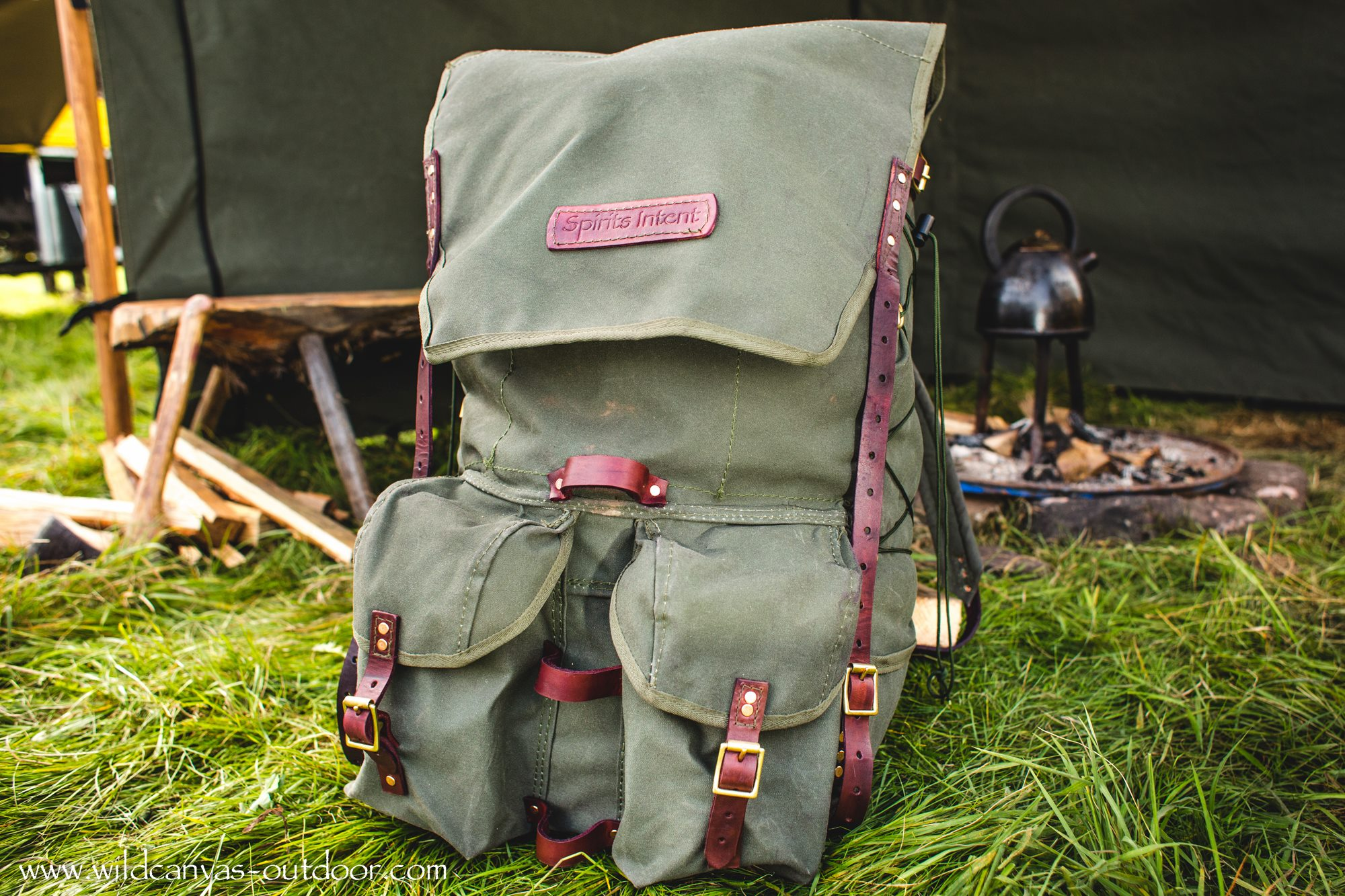 The Ultimate Bushcraft Pack Front View
