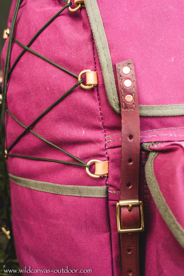 Front Strap detail