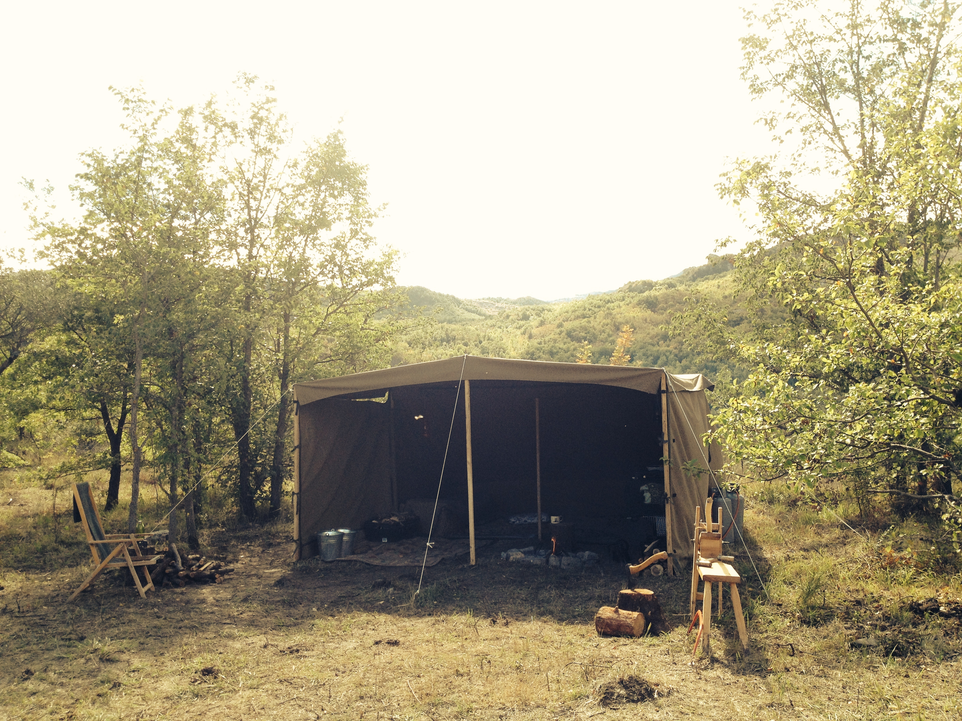 & Double Baker (Kitchen) Tent | Wild Canvas - free in the weaves