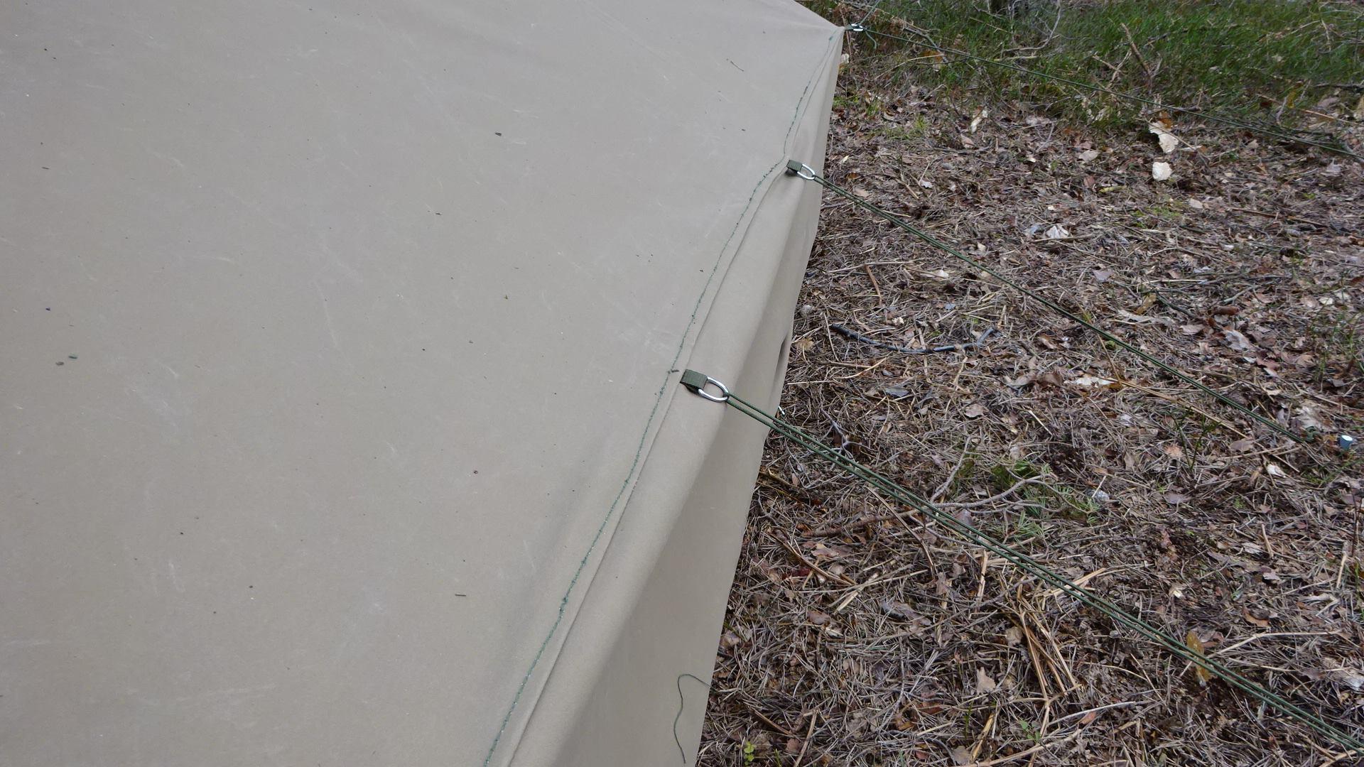 Baker Tent matt sand back